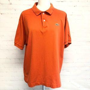 Lacoste Orange T-shirt